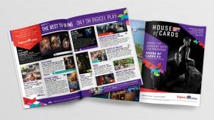 Digicel Play Press Advertising Design