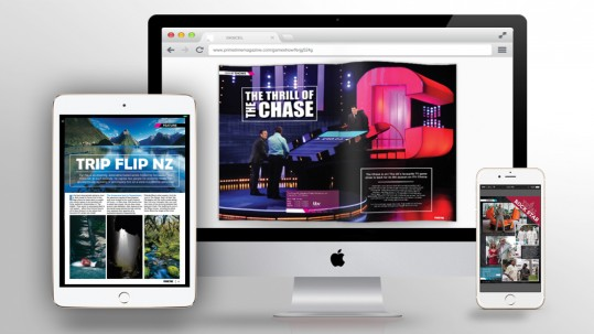 Primetime Online Magazine Design - Digicel Plays Monthly Magazine