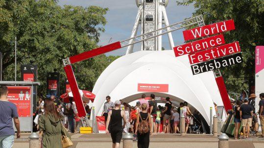 World Science Festival - Festival Street Entrance