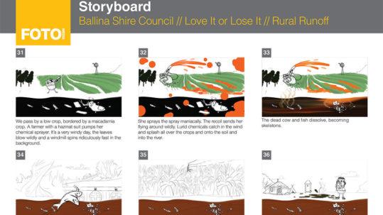 Love it Or Lose It - Storyboard