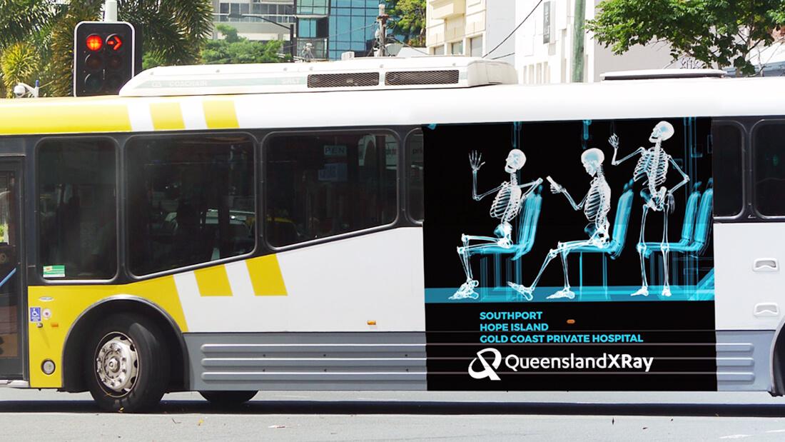 Graphic Design - Bus Wrap Design