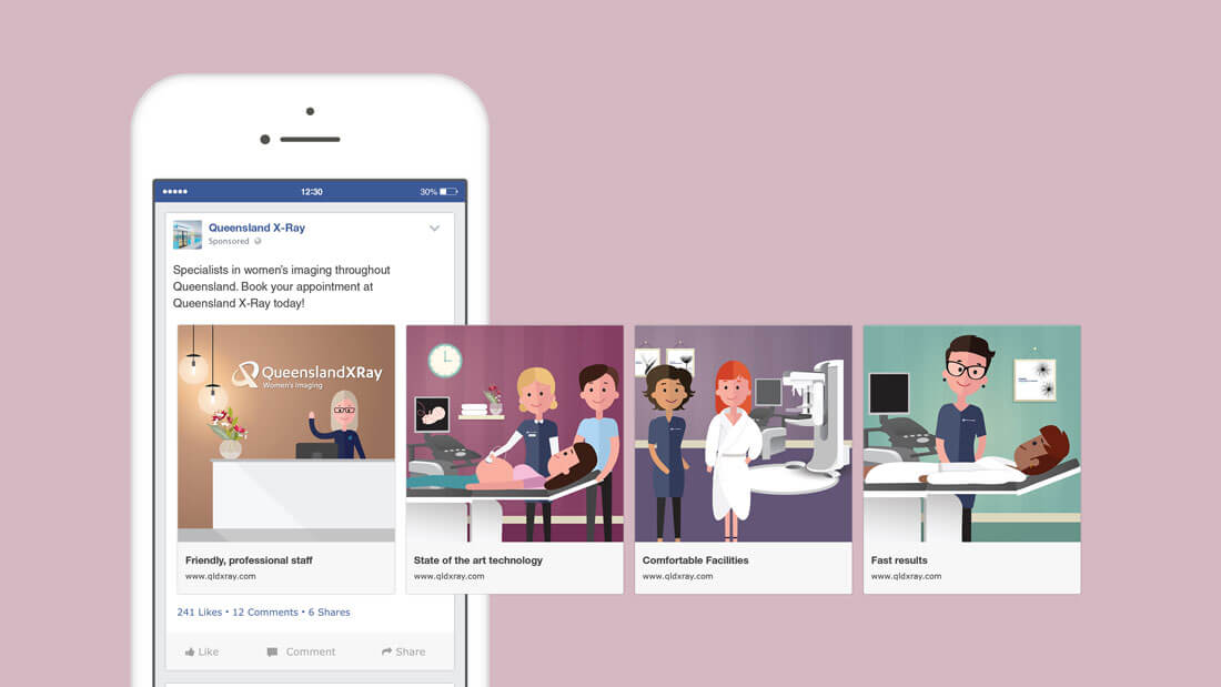 Facebook Advertising Design