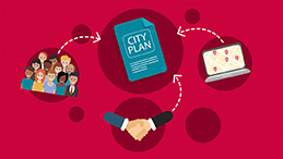 City of Gold Coast - City Plan Animated Infographic Video