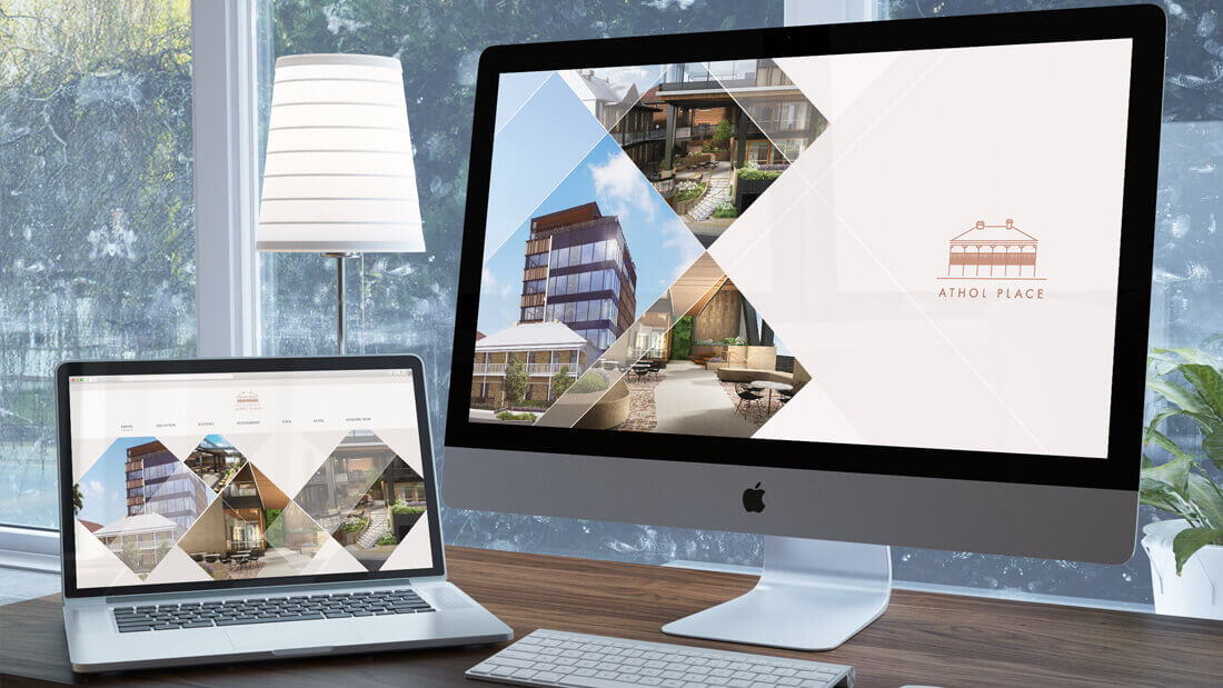Athol Place Website Design & Development