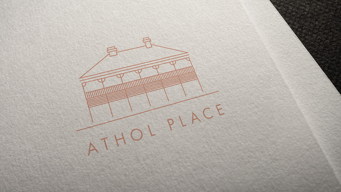 Athol Place Logo Design