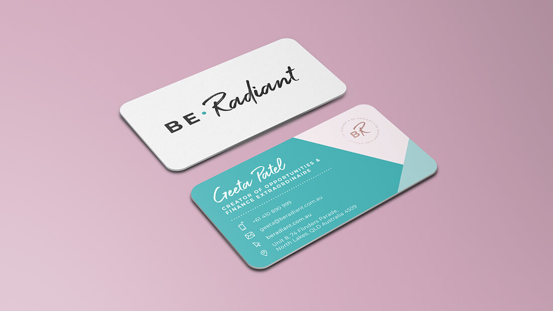 BE.Radiant Brand Design - Corporate Stationary