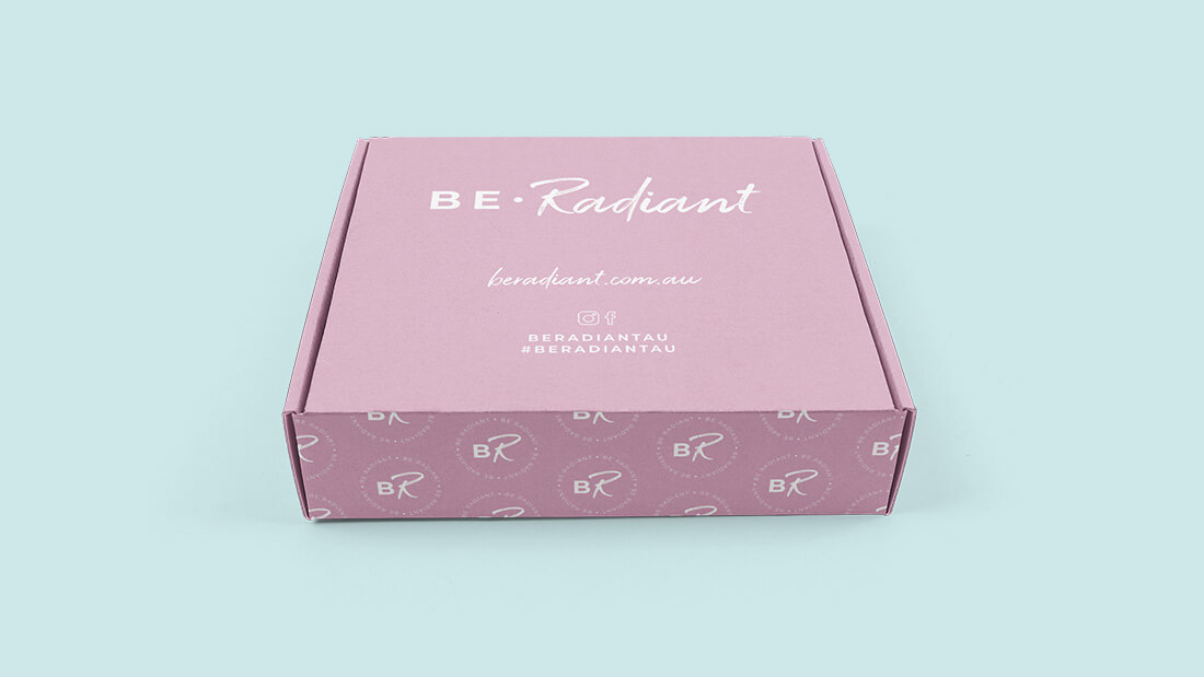 BE.Radiant Brand Design - Packaging Design
