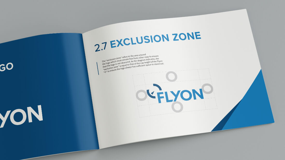 Flyon Brand Style Guide Design