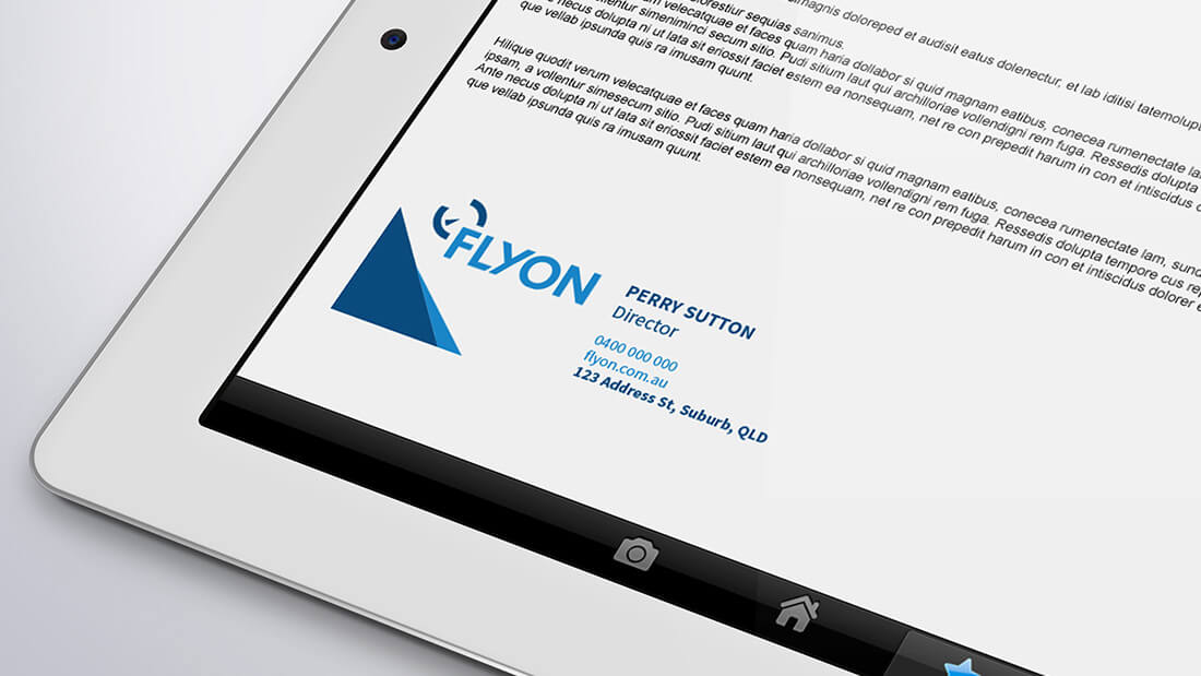 Flyon Brand Design - Email Signature Design