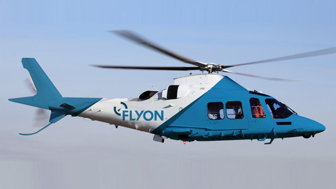 Flyon Brand Design - Helicopter Signage Design