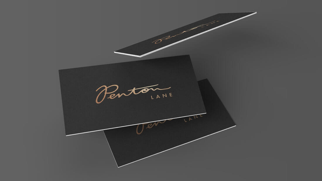 Penton Lane Restaurant Logo Design