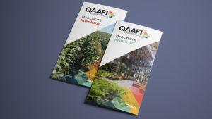 QAAFI Brand Design - Leaflet Design