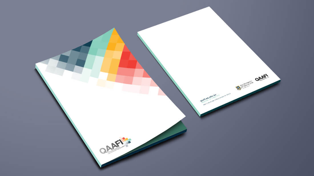 QAAFI Brand Design - Folder Design