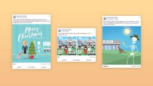Queensland X-Ray - Social Media Designs