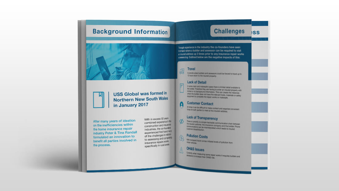 USS Global Brand Design - Brochure Design