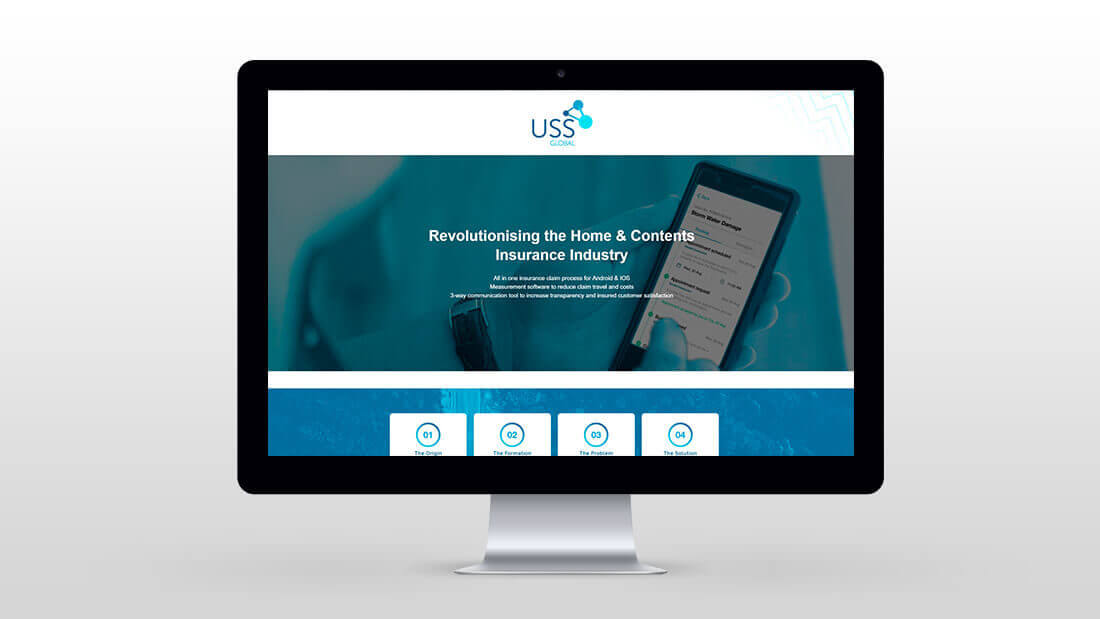 USS Global Brand Design - Website Design