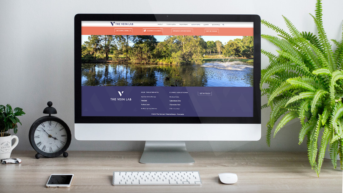 The Vein Lab - Website Design & Development
