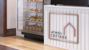 Athol Cottage Cafe Logo Design