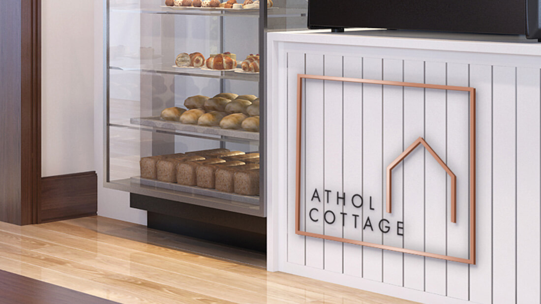Athol Cottage Cafe Logo Design
