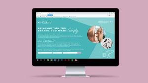 BE.Radiant Brand Design - Website Design